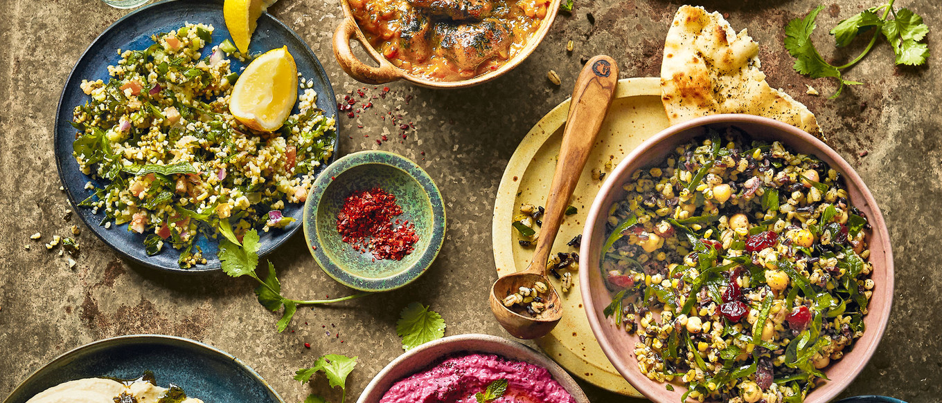 Bringing flavours of the Middle East to the dining table